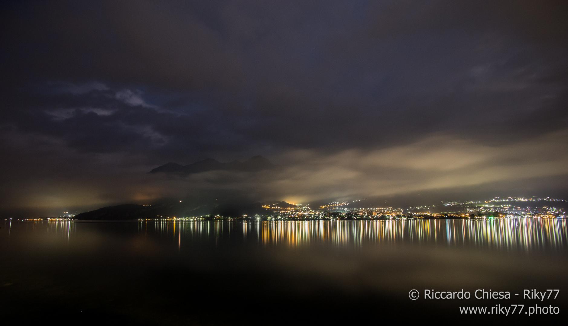 Il lago e le nuvole