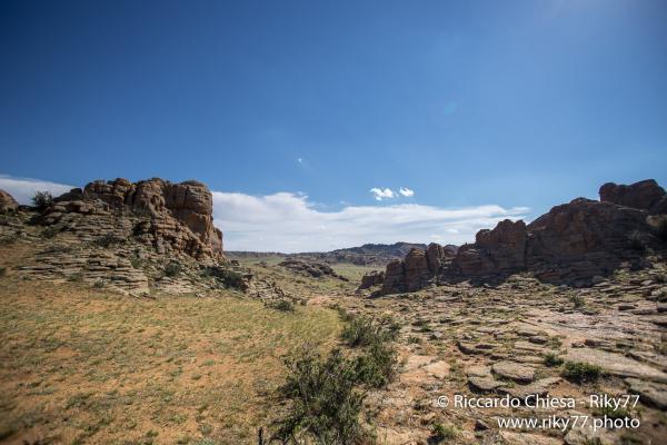 Baga Gazryn Chuluu - Gobi desert