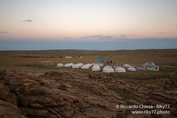 Ger Camp - Gobi desert