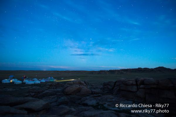 Night - Gobi desert