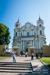 Vilnius - Chiesa di San Pietro e Paolo